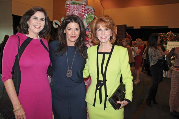 Lynn O'Connor, Lila Ashmore of Vesta's, Terri Erwin