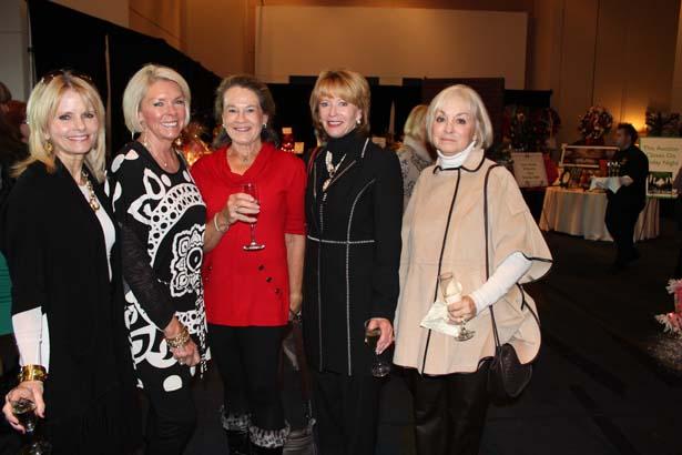 Luraette Tucker, Charlotte Payne, Kathryne Baker, Barbara Hays, Carolyn Lay