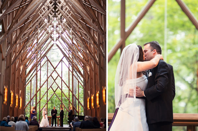 Hot Springs Real Wedding: Jen & Matt Long