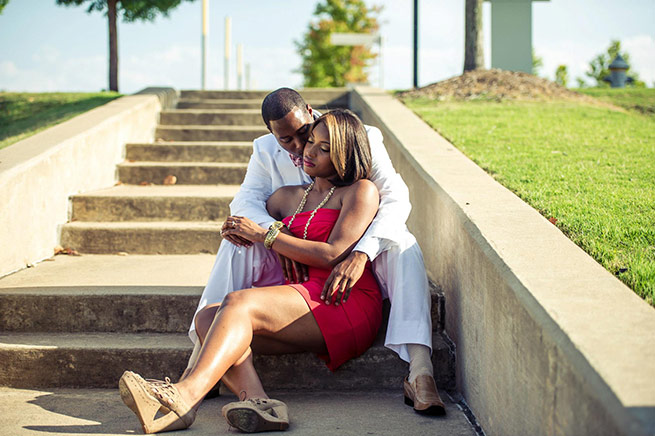 Bryant Engagement: Shermain Jordan of Marianna & Ken Reed Jonesboro, La.