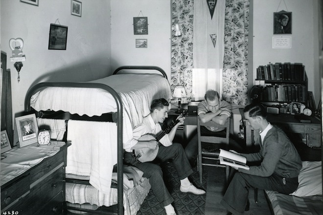 Beautiful A J. Alvin Brown Hall Dorm Room In 1940. Part 22
