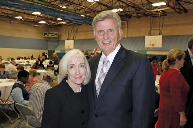 Ginger and Gov. Mike Beebe