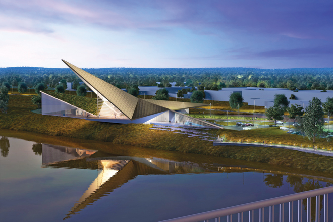 Groundbreaking Held for $50M US Marshals Museum