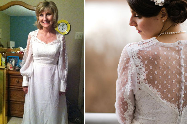 Genial Confessions Of A Real Arkansas Bride: I Wore My Motheru0027s Wedding Dress