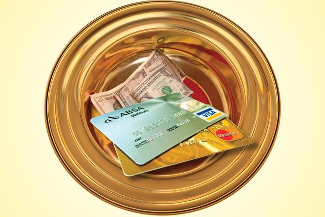 Churches Introduce Electronic Tithing