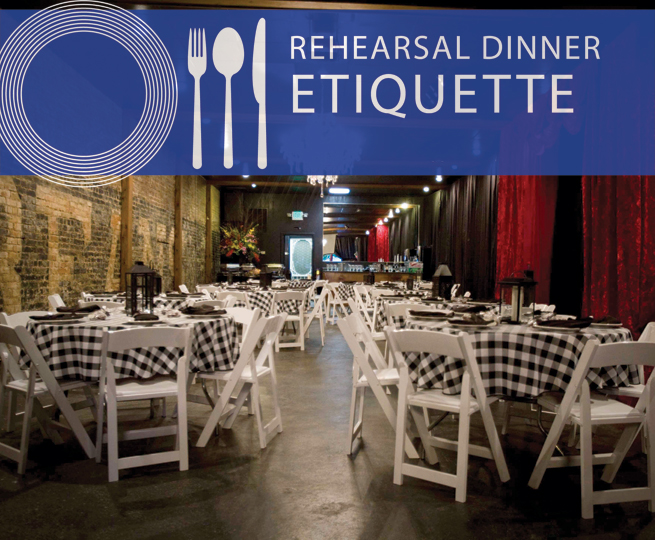 rehearsal dinner etiquette dining room restaurant tables