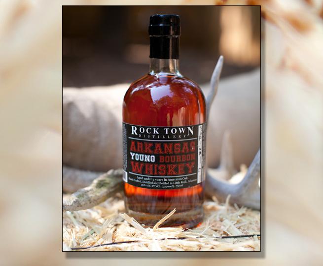Rock Town distillery Arkansas young bourbon Whiskey