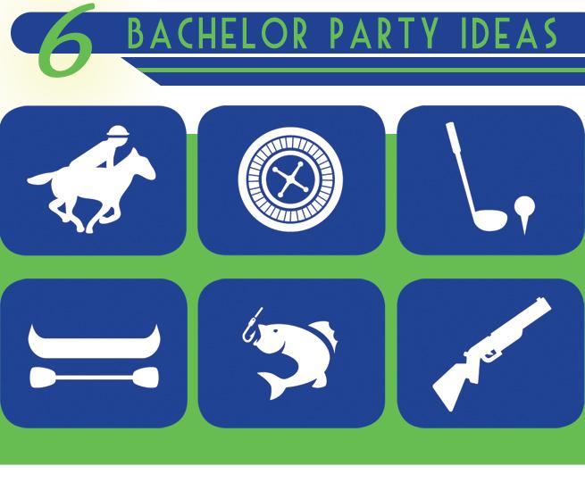6 bachelor party ideas