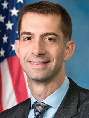 Tom Cotton Serving on House Banking, Armed Services Panels