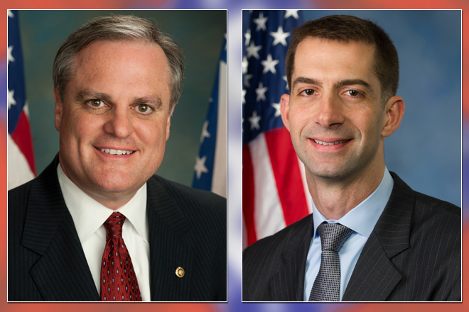 Tom Cotton, Mark Pryor Stick to Familiar Themes in Debate