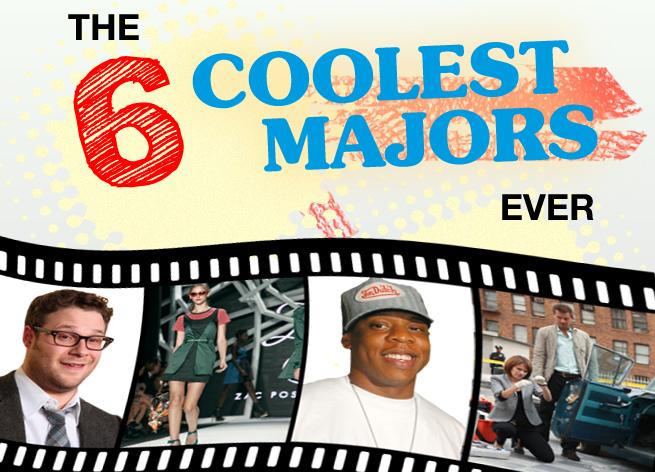 SIX 6 coolest majors ever