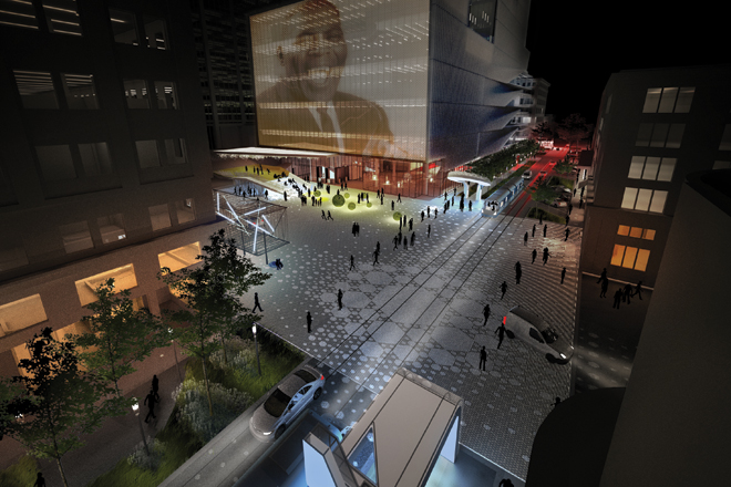 University of Arkansas Community Design Center (UACDC) & Marlon Blackwell Architect (MBA) • The Creative Corridor: A Main Street Revitalization for Little Rock