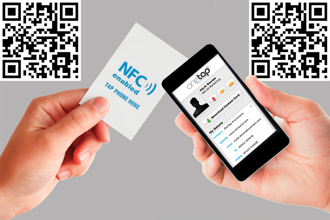 traditional business cards get high tech tweaks - Nfc Business Cards