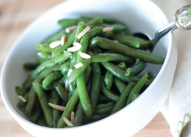Green Beans Almondine from Catering to You