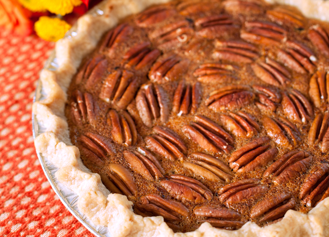 Pecan and chocolate pies from Charlotte's Eats & Sweets