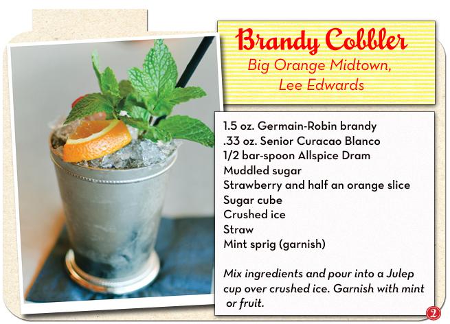 Brandy Cobbler