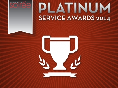 Little Rock Soirée's 2014 Platinum Service Awards (Special Promotion)