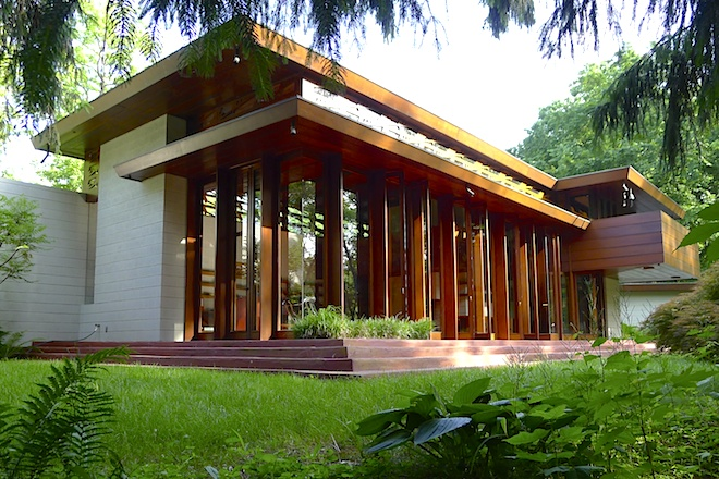 At Crystal Bridges, A New Role for Frank Lloyd Wright Home That Survived Sandy
