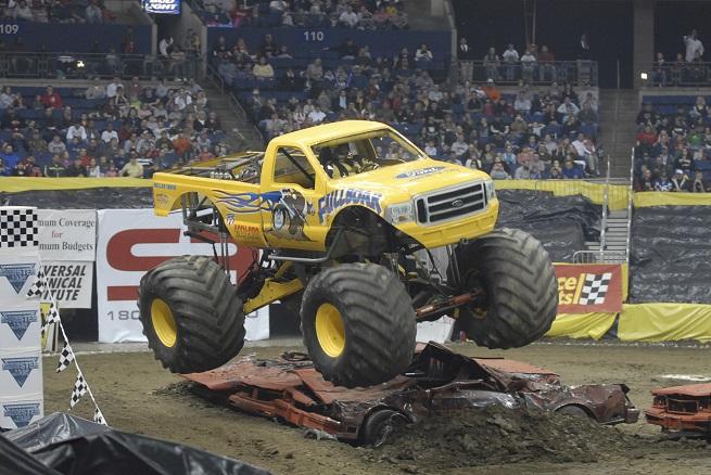Trucks Monster Jam Event