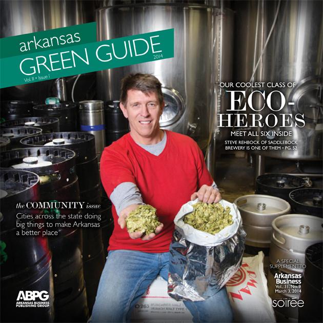 Editor's Letter: Inside Arkansas Green Guide 2014   Little Rock