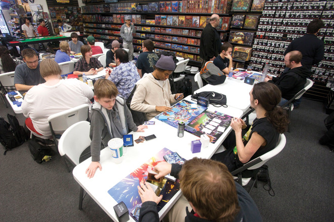 Board Game Stores Thrive in 21st Century, Provide Customers With 'Anti-Tech' Activities