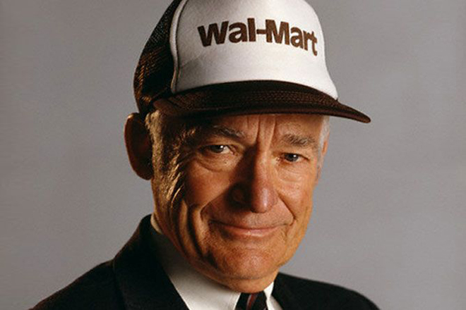 sam walton and the history of wal mart store Shop walmartcom for every day low prices free shipping on orders $35+ or pickup in-store and get a pickup discount open a walmart credit card to save even more.