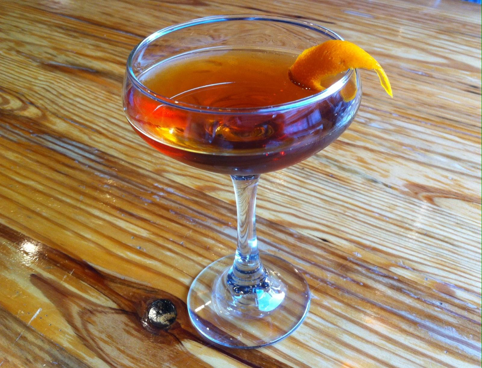 Taste of Tuesday: The Toronto Cocktail from Big Orange | Little Rock ...