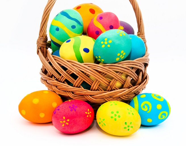 Easter, Easter eggs, Easter basket, eggs