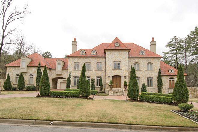 More million dollar homes sold in pulaski county during for Little rock custom home builders