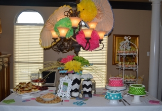 Bridal Shower of the Week: Paige's Special 'April Showers' Party