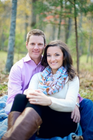 Arkansas Engagement: Jamie Fotioo & Neil Groat of Conway