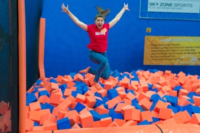 Sky Zone Indoor Trampoline Park Now Open in Maumelle