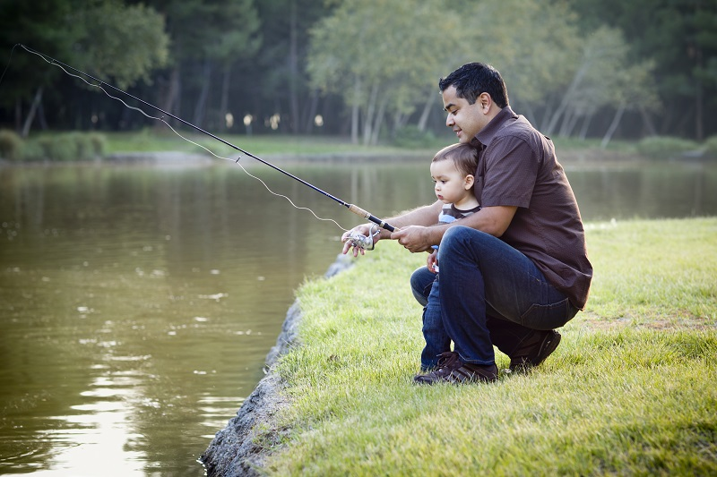 10 events for weekend fun cheetah chase fishing derby for Little kid fishing pole