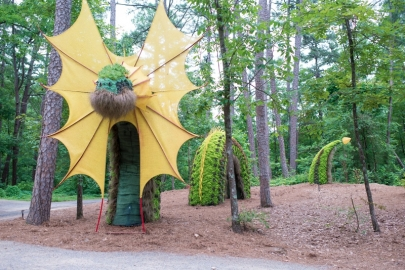 Mystic Creatures Topiary Art Returns to Garvan Woodland Gardens May 8