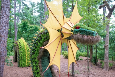 Exhibit Tour: Mystic Creatures at Garvan Woodland Gardens