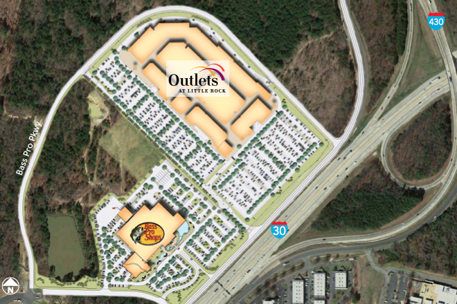 Outlets at Little Rock to Mark Grand Opening on Oct. 16
