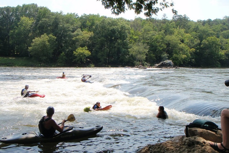 Ouachita River, Ouachita River Whitewater Park, Rockport, paddling, kayaking, floating, float
