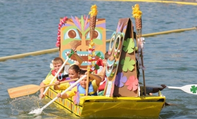 3 Arkansas Festivals This Weekend: Grapes, Peaches and Cardboard Boats