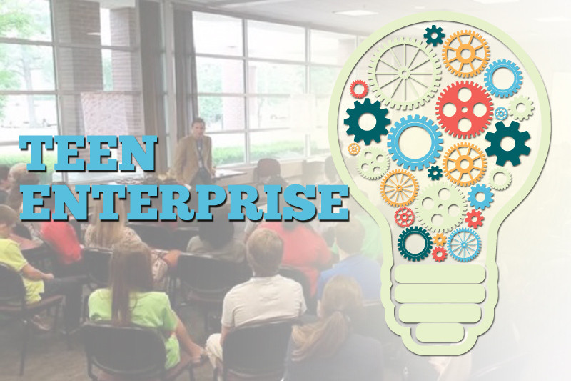 Teen enterprise noble impact startup art