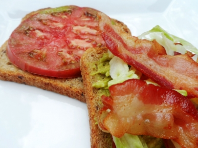 Taste of Tuesday: Farm to Market to Table BLT Sandwich