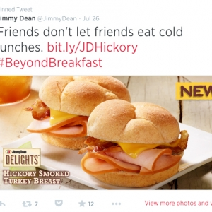 For First Time, Jimmy Dean Moves Beyond Breakfast