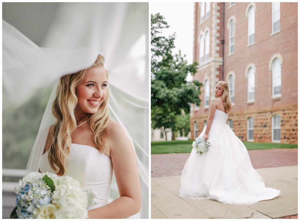 Arkansas Bride Bridgette Bailey Of Fayetteville