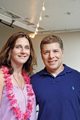 Anita and Chad Cooper