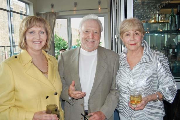 Olivia Myers Farrell, Randy Breece and Judy Waller Breece