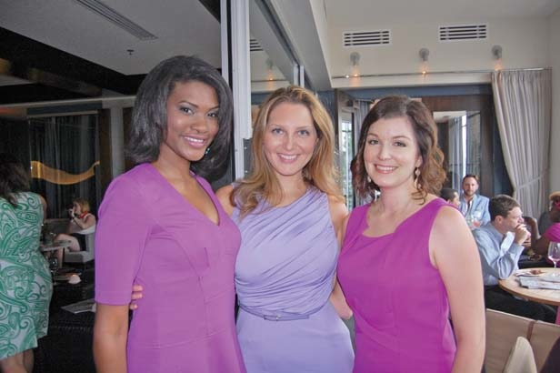 Michelle DuVall, Lara Blume, Adrienne Baker