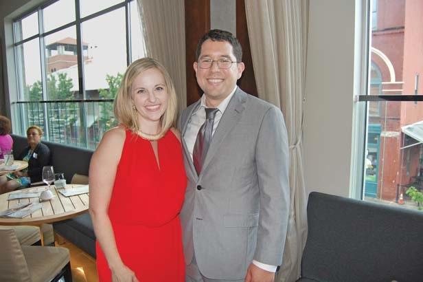 Dr. Amy and Gerardo Galdamez