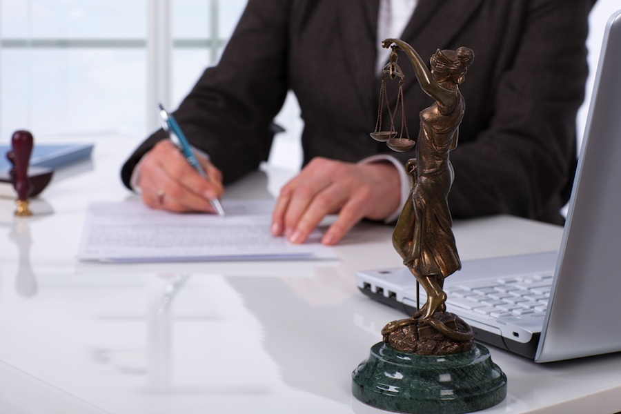 Lawyer, law  (shutterstock)