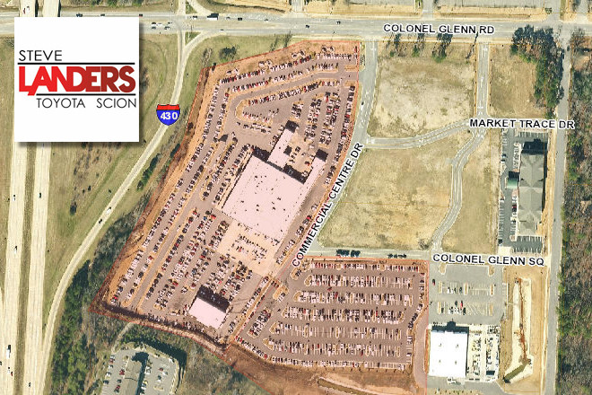 Properties Including The Landers Toyota Scion Dealership And Service Center  On Col. Glenn Road In Little Rock Were Sold To A Minnesota Company For  $22.1 ...