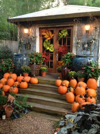 Tour Chris H. Olsen's Autumn Gardens Saturday