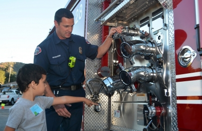 Local Fire Departments Celebrate Fire Prevention Week, Oct. 4-10
